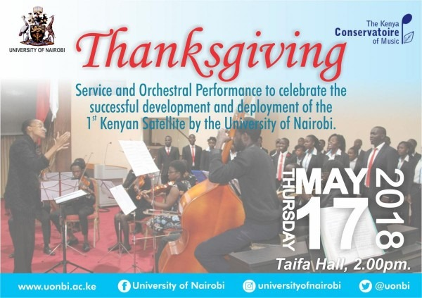 Invitation To A Thanksgiving Service