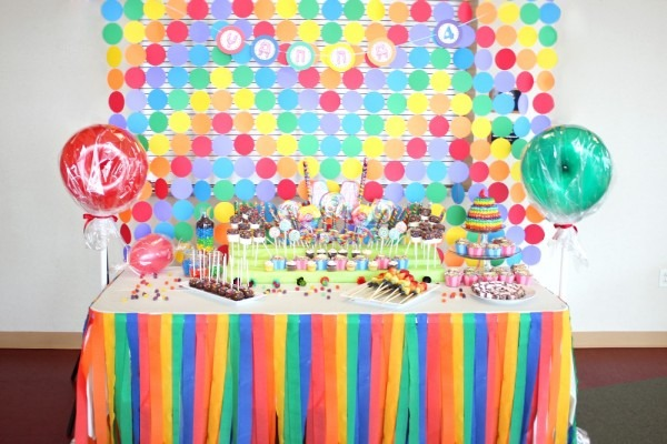 Baby Shower  Candyland Baby Shower  Candy Land Birthday Party Part