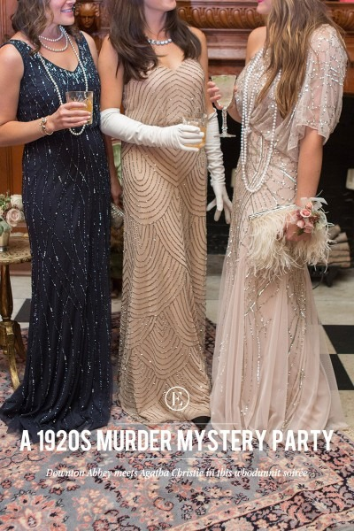 How To Throw A Glam 1920s Murder Mystery Party!