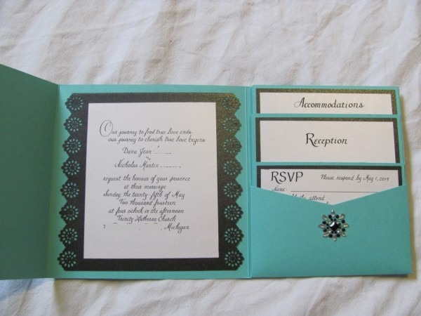 Tiffany Blue Wedding Invitations ~ Wedding Invitation Collection