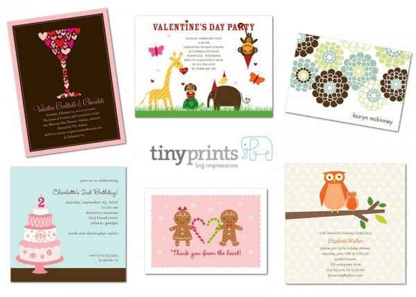 Tiny Prints {giveaway!} – Glorious Treats
