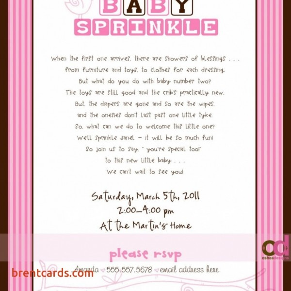 Top Sprinkle Baby Shower Invitation Wording To Inspire You Welcome