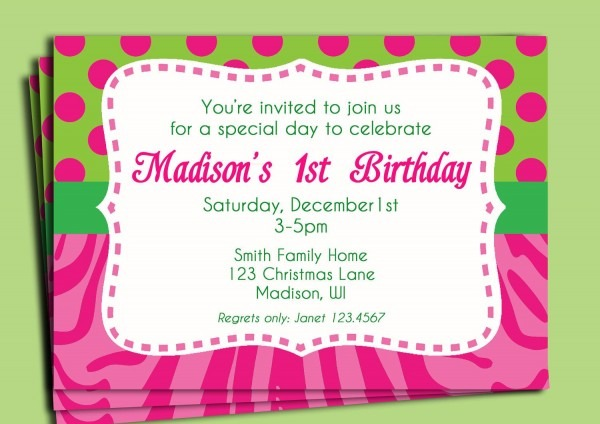 Birthday Invitation  How To Write A Birthday Invitation Email
