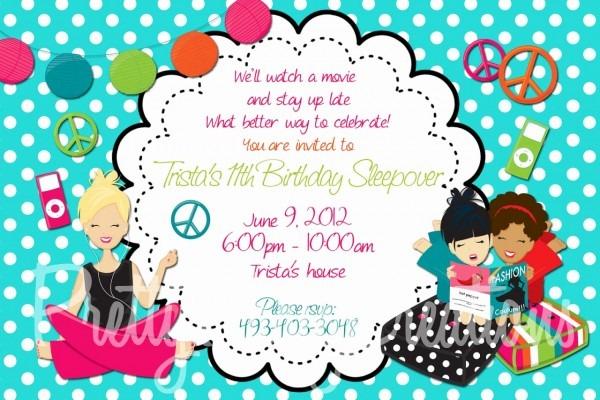 Tween Birthday Invitations Printable Free New Tween Birthday Party