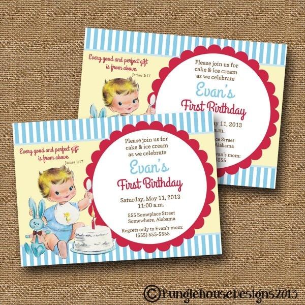 Christian Birthday Invitations Templates