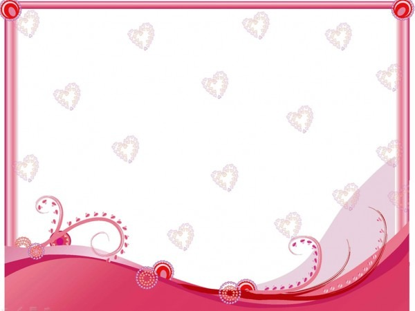 Heart Wedding Ppt Templates For Powerpoint Presentations, Heart