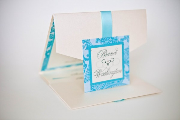 Wedding Invitations Baltimore    Pocket Style Invitations
