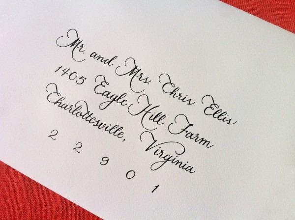 Wedding Invitation Calligraphy Wedding Invitation Calligraphy For