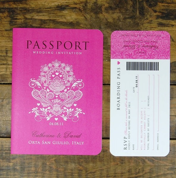 Wedding Invitation Passport Style From Cdn And Get Ideas To Create