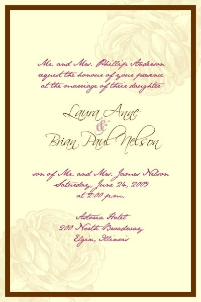 Marriage Invitation Quotes For Friends In English