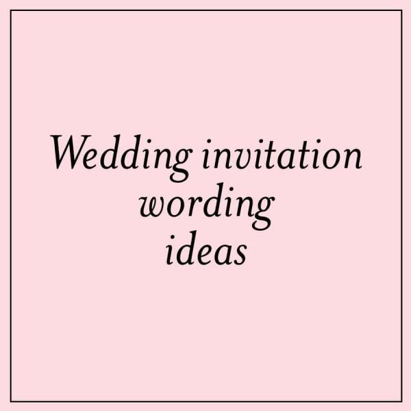 Wedding Invitation Wording Divorced Parents: Casual Wedding Invitation Ideas