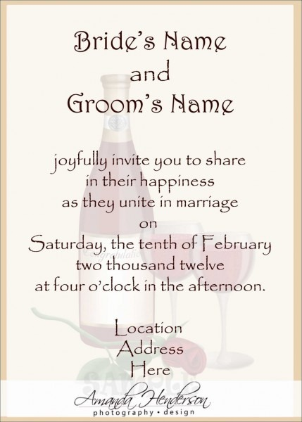 Indian Wedding Invitation Wordings For Friends From Bride And