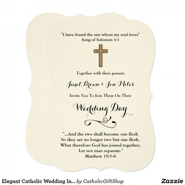 Invitations   Wedding Invitation Wording With Bible Verses