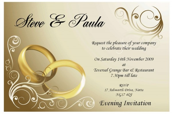 Wedding Invitations Cards From Massvn To Get Ideas How To Make