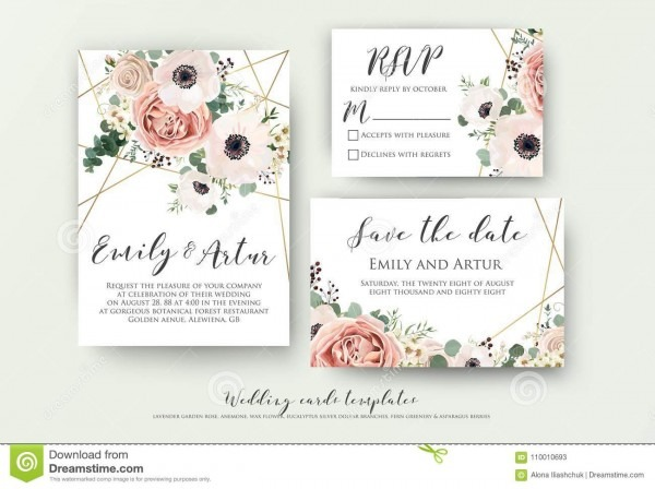 Wedding Invite, Invitation, Rsvp, Save The Date Card Design With