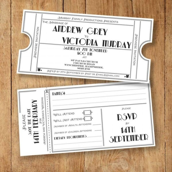 Wedding Invite, Rsvp, Save The Date And Info Card Template
