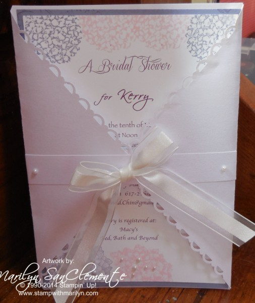 Handmade Wedding Shower Invitation Archives