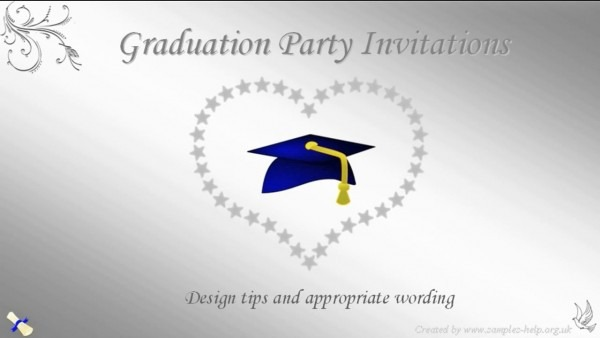 What To Write On Graduation Party Invitations Is Packed With