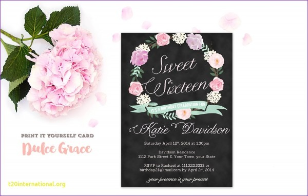 Wording For Surprise 16th Birthday Party Invitations