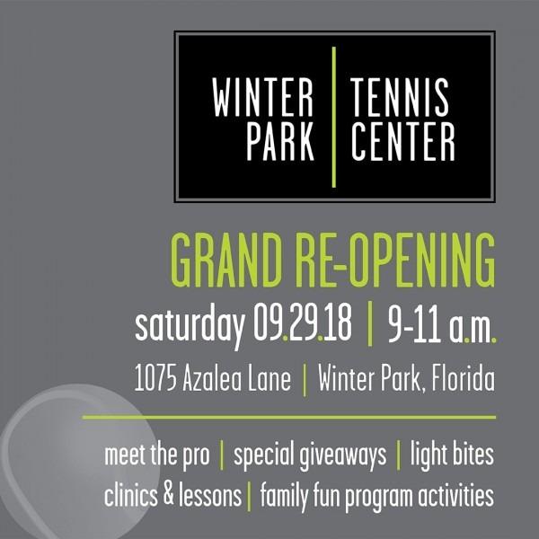 Winter Park Tennis Center Grand Re