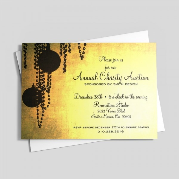 Yellow Chic Invitations & Announcements By 123print