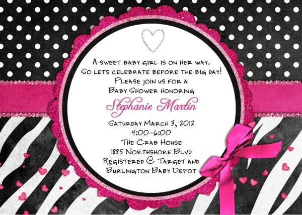 24 Images Of Zebra Baby Shower Invite Template