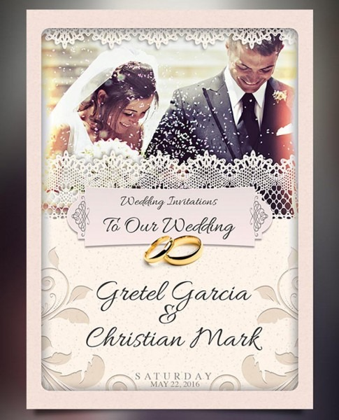 002 Wi15 Template Ideas Photoshop Wedding Invitation Awesome