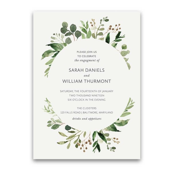 014 Template Ideas Engagement Party Invitation Templates Print At