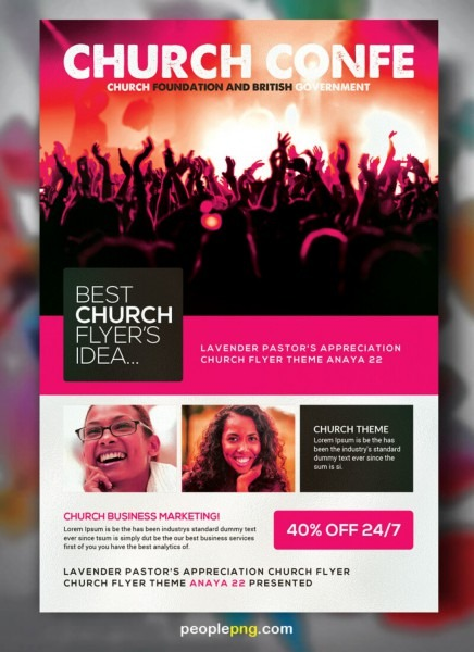 027 Template Ideas Free Church Flyer Templates Stunning Psd Word