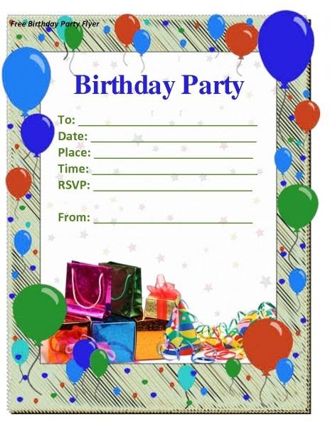 014 Template Ideas Birthday Invitation Card Remarkable 1st Psd Pdf