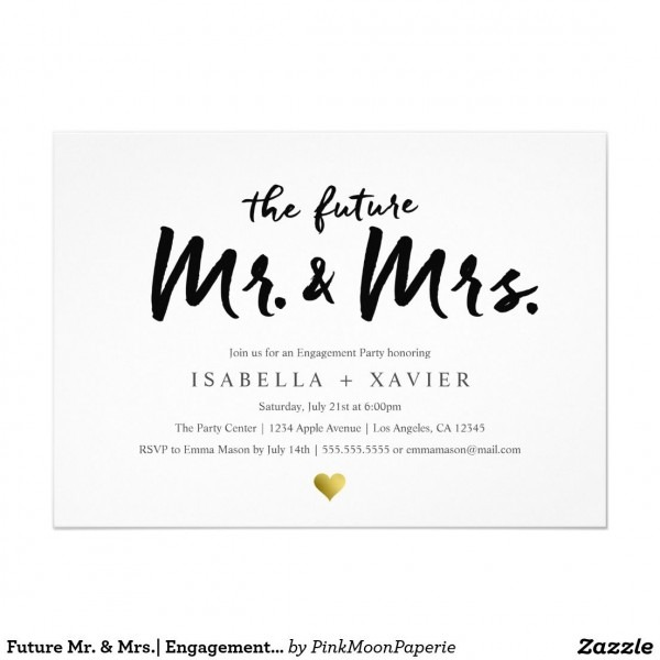 021 Template Ideas Engagement Party Invitation Astounding