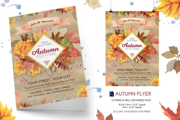 021 Template Ideas Harvestival Flyer Free Best Of Printable Fall