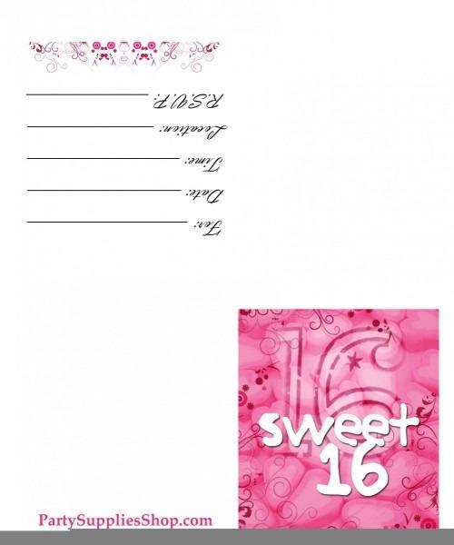 024 Sweet Invitations Templates Template Ideas Printable Shocking
