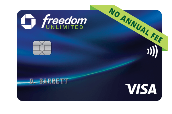 Chase Freedom Unlimited – Refer