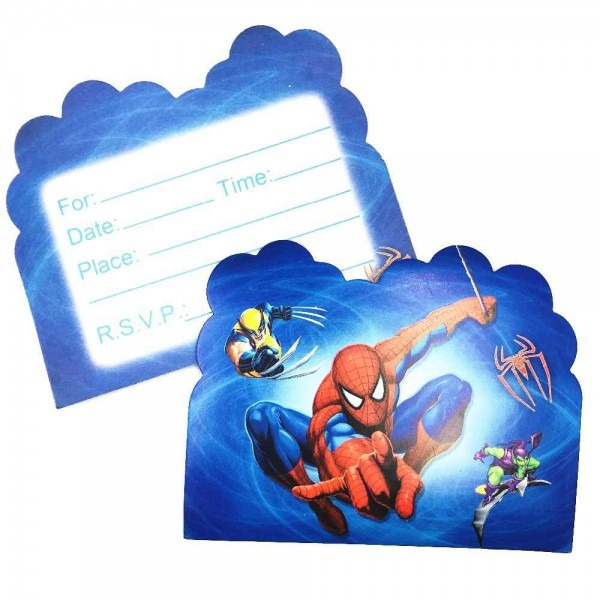 Detail Feedback Questions About 10pcs Spiderman Themed Birthday