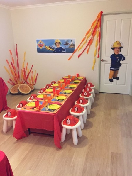 Fireman Sam Party Theme Table …