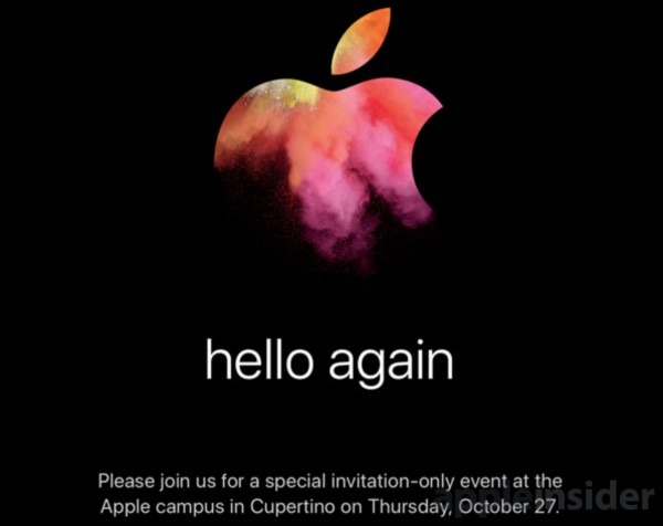 Hello Again ' Apple Sends Invitations For Event On Oct  27, New