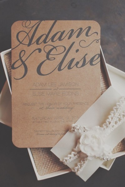 Rustic Elegance Wedding Invitation Diy Printable Invitation On