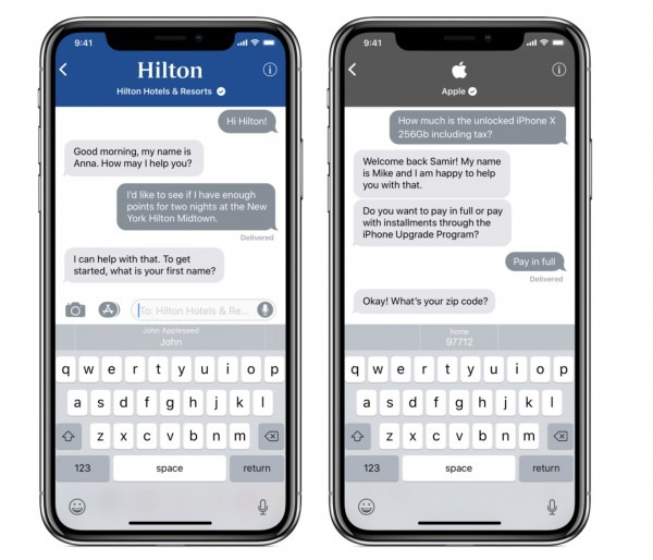 Apple Business Chat Has The Enterprise Talking About Imessage Apps