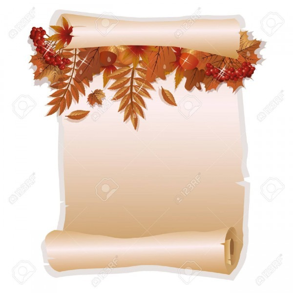 Autumn Invitation Card In Old Style Royalty Free Cliparts, Vectors
