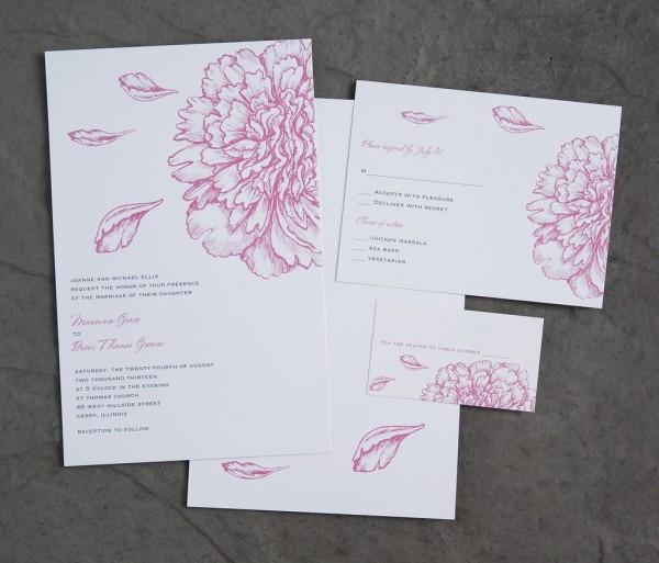 Vistaprint Wedding Invitation