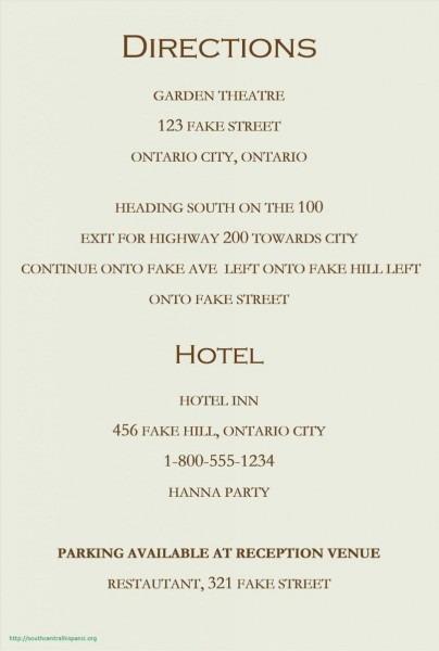 24+ Elegant Image Of Accommodation Wording For Wedding Invitations