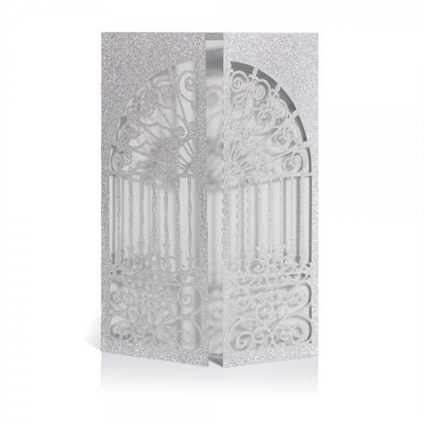 Amazon Com  Laser Cut Printable Wedding Invitation Kits