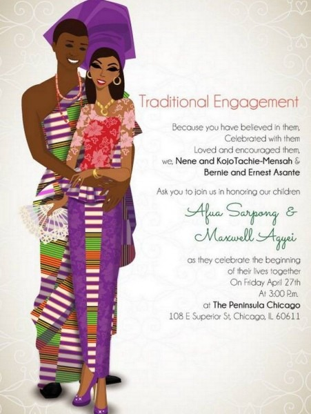 10 African Wedding Invitations Designed Perfectly!