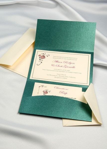Amazon Com   Horizon Pocket Folder Invitation Kit
