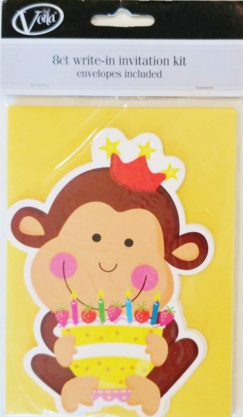 Amazon Com  Pack Of 8 Kid  Child Birthday Invitations With