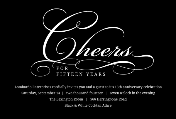 Business Anniversary Party Ideas Archives
