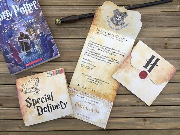 Amazon Com  Harry Potter Party Invitation