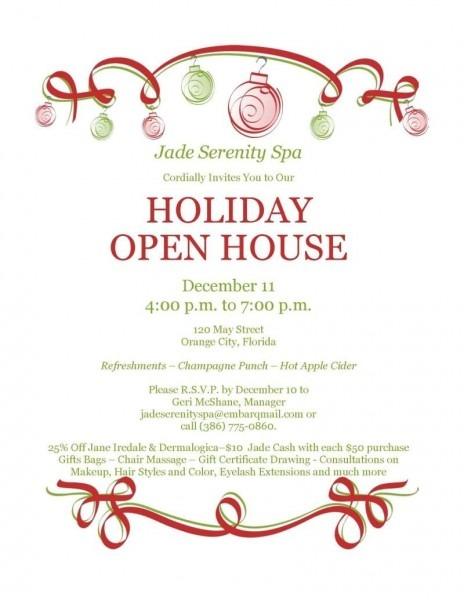 Free Printable Christmas Party Invitations
