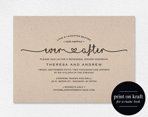 After Wedding Party Invitations